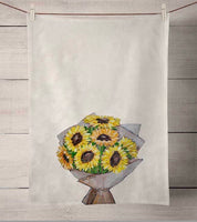 Sunflower Tea Towel