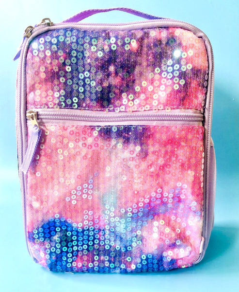 Tie Dyed Sequin Lunchbox