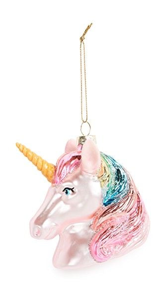 Festive Unicorn Ornament