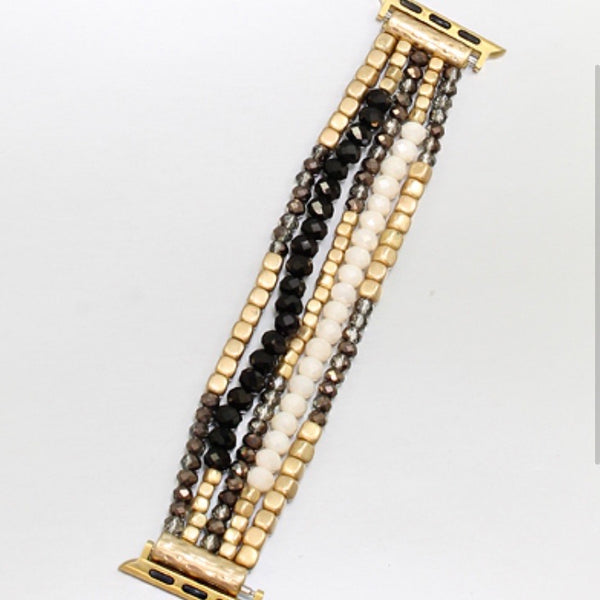 Beaded Apple Watch Band