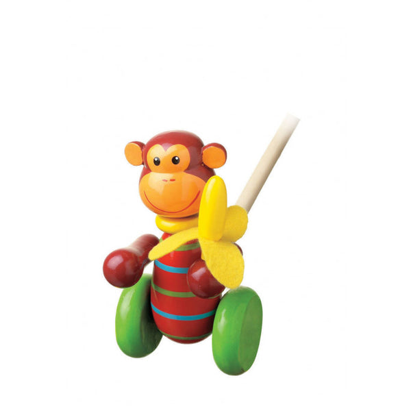 Monkey Push Toy