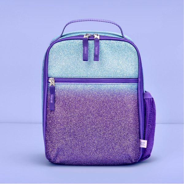 Purple and Blue Ombre Glitter Lunchbox