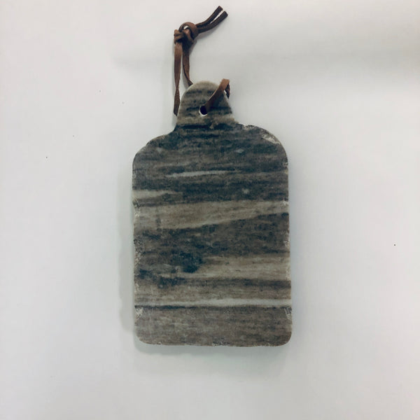 Small gray marble board