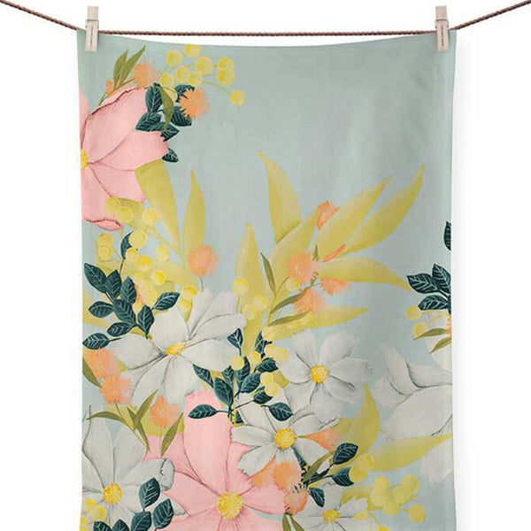 Spring Flowers Dish Towel