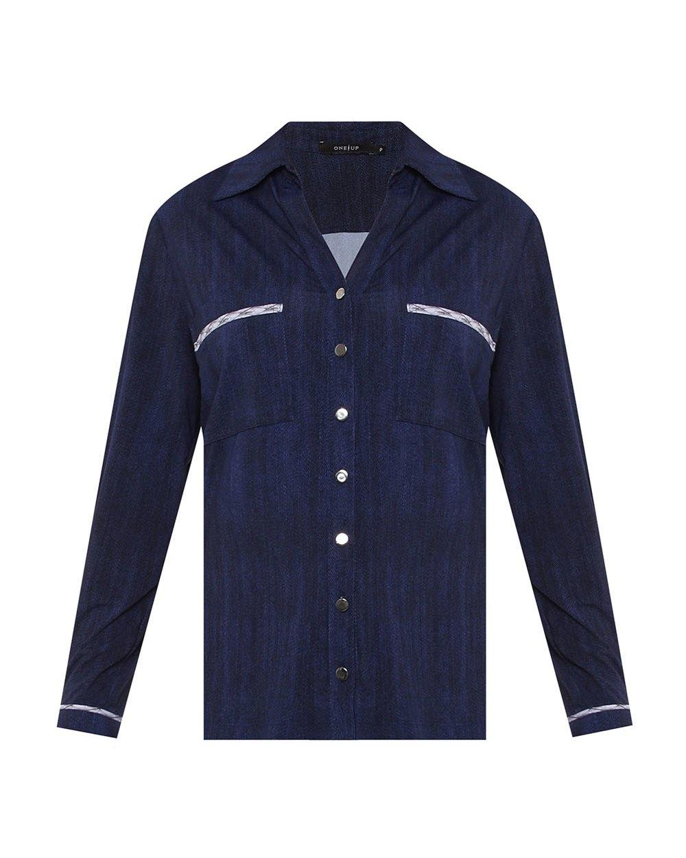 Camisa Fluity Jeans by One Up