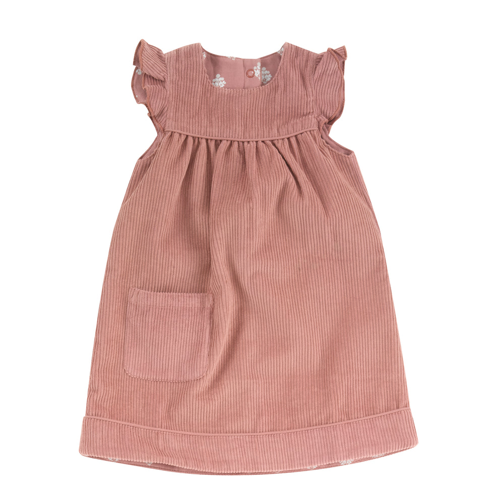 Pigeon Organics Reversible Shift Dress- Rose