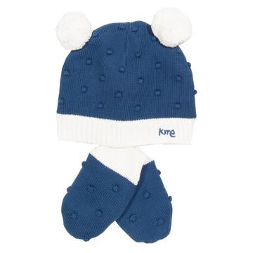Kite Bobble Hat and Mitts