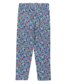 Lilly and Sid Ditsy Leggings- Blue