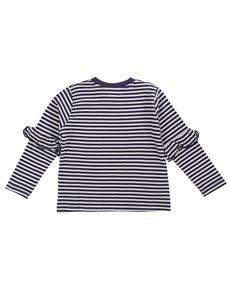 Load image into Gallery viewer, Lilly and Sid Stripe Frill Insert Top