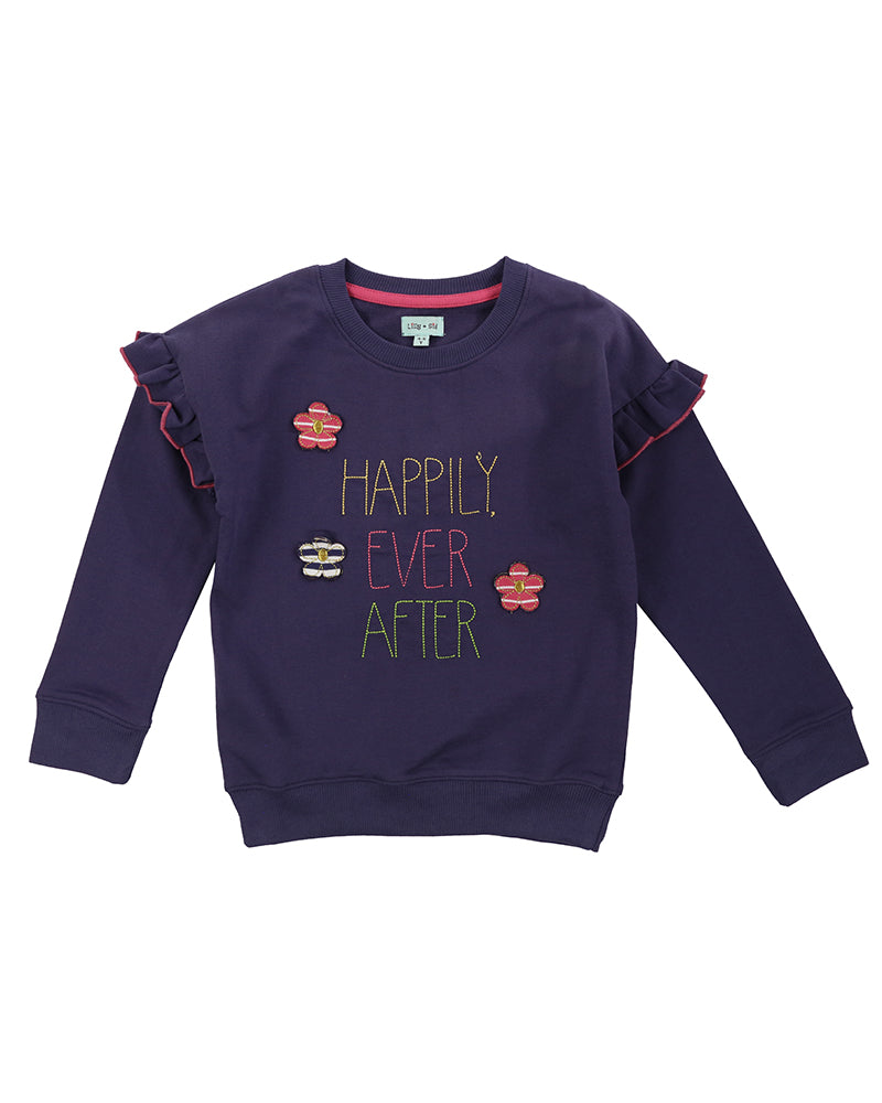 Lilly and Sid Happily Ever After Sweatshirt