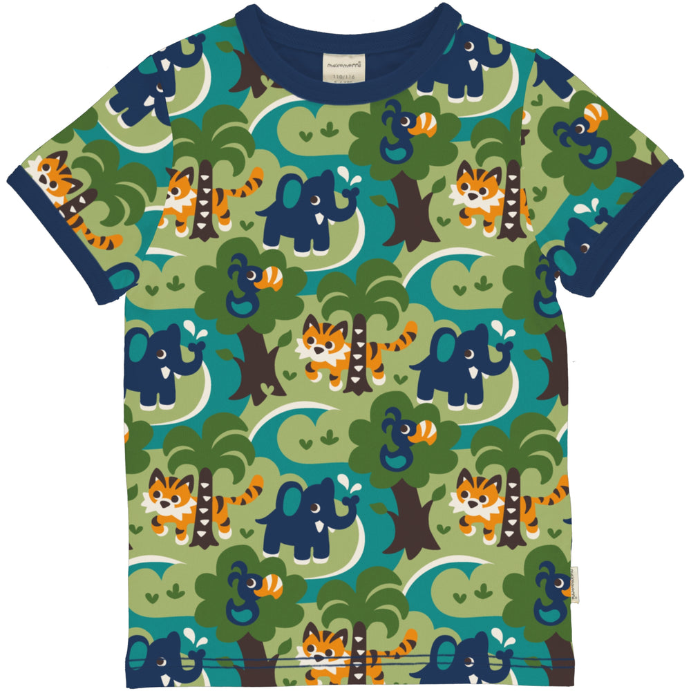 Jungle Short Sleeve Top