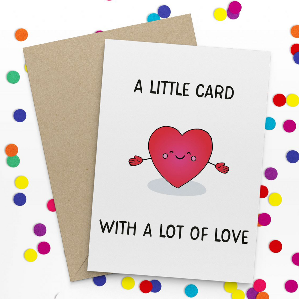 A Lot of Love Card