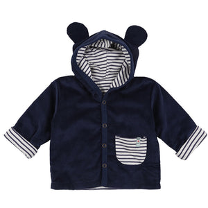 Load image into Gallery viewer, Lilly and Sid Cord Bear Jacket