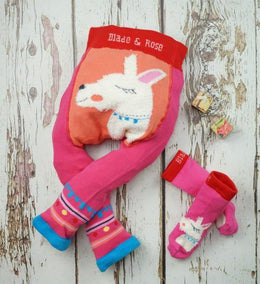 Blade and Rose Fluffy Llama Socks - Small and Awesome