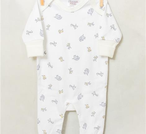 Chamomile Baby Jungle Fun Sleepsuit - Small and Awesome