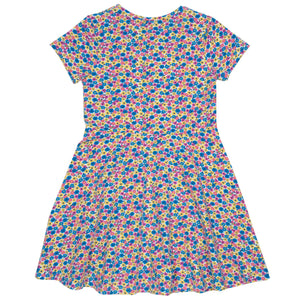 Load image into Gallery viewer, Kite Bee ditsy skater dress - Small and Awesome