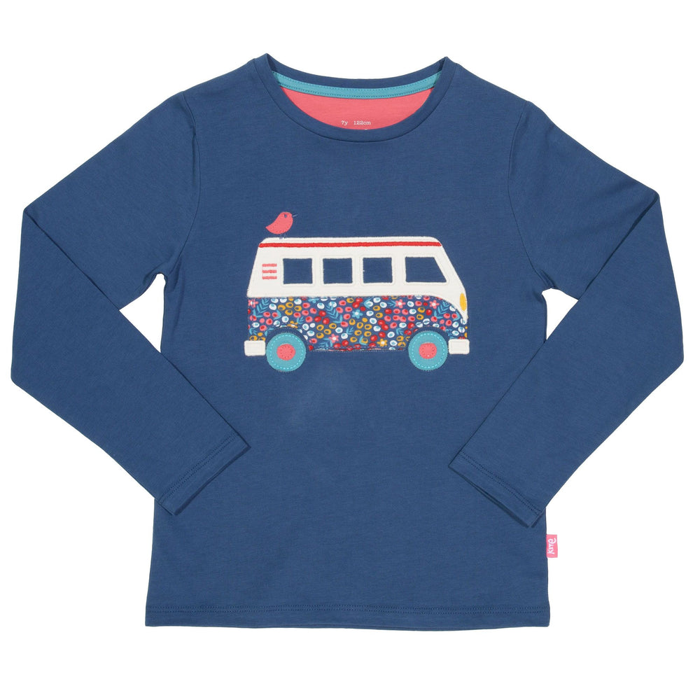 Kite Camper van t-shirt - Small and Awesome