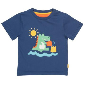 Load image into Gallery viewer, Kite Croc castle t-shirt