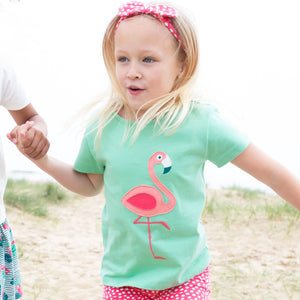 Load image into Gallery viewer, Kite Flamingo t-shirt