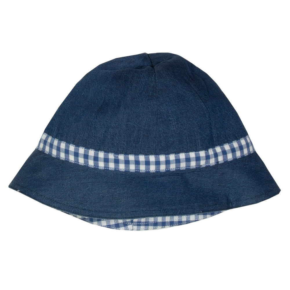 Kite Gingham Sun Hat - Small and Awesome