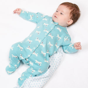Load image into Gallery viewer, Kite Little Pup Sleepsuit - Small and Awesome