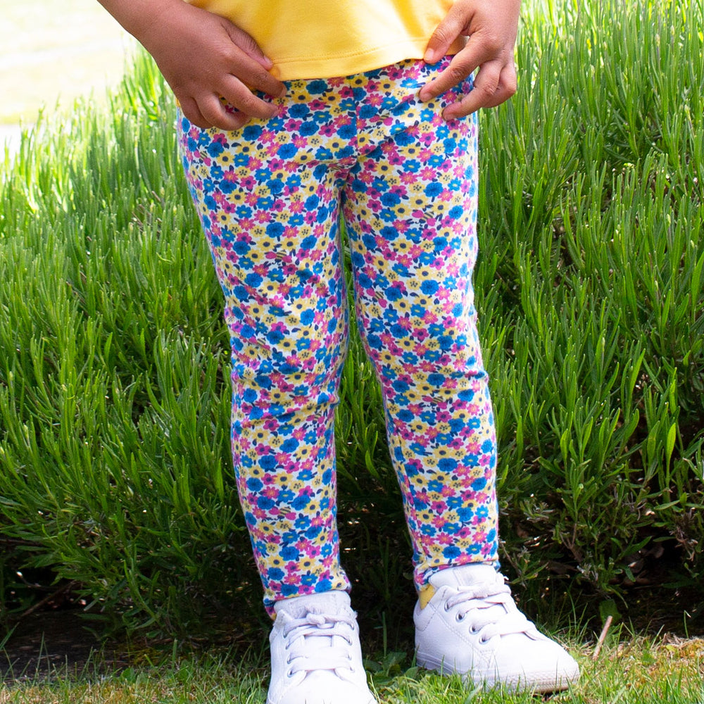 Load image into Gallery viewer, Kite Mini Bee Ditsy Leggings - Small and Awesome