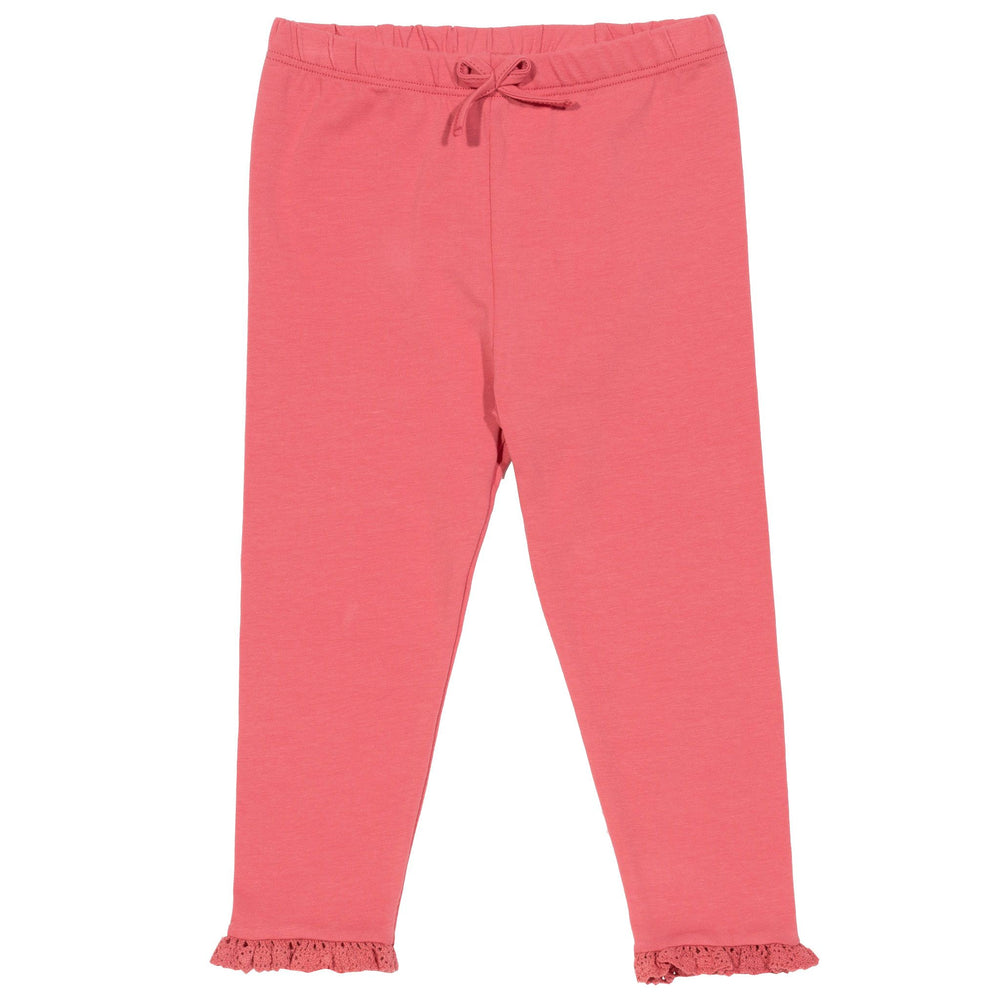 Kite Mini Frill Leggings- pink - Small and Awesome