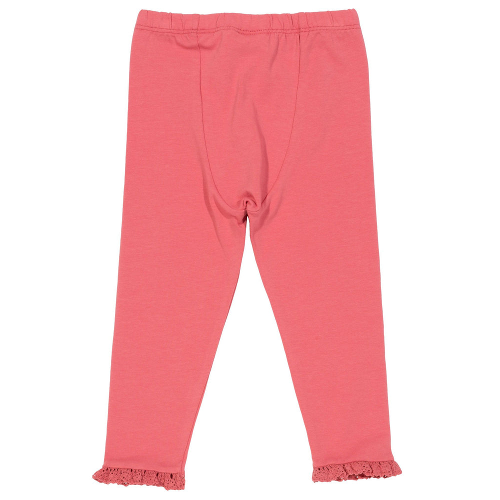 Load image into Gallery viewer, Kite Mini Frill Leggings- pink - Small and Awesome