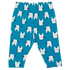 Kite Owl Leggings Blue - Small and Awesome