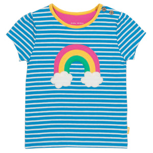 Load image into Gallery viewer, Kite Rainbow t-shirt - Small and Awesome