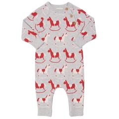Load image into Gallery viewer, Kite Rocking Horse Romper - Small and Awesome