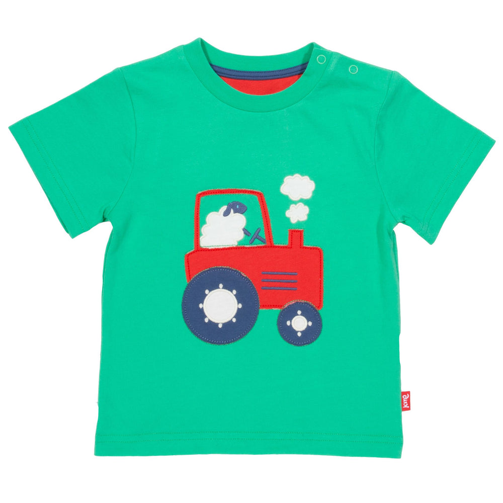 Kite Tractor Time T-Shirt - Small and Awesome
