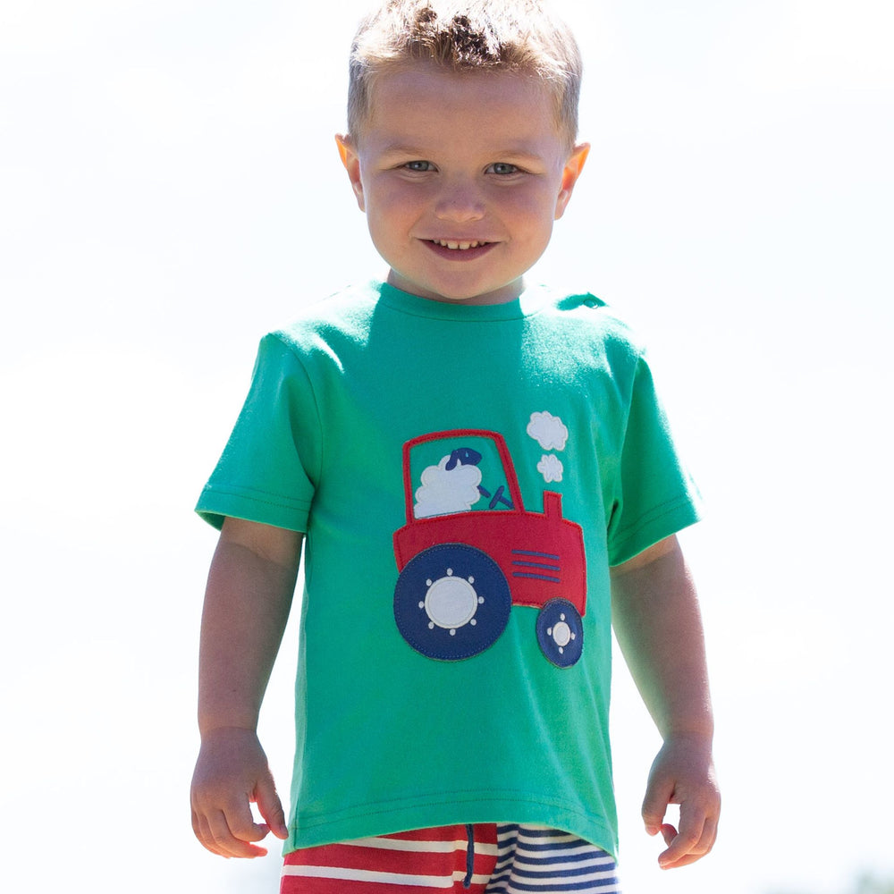 Load image into Gallery viewer, Kite Tractor Time T-Shirt - Small and Awesome