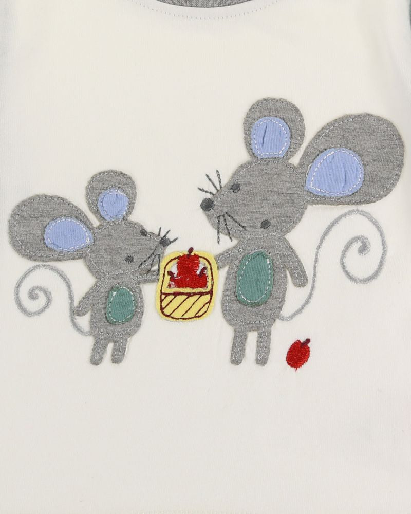 Load image into Gallery viewer, Lilly and Sid Applique Mouse Playset - Small and Awesome