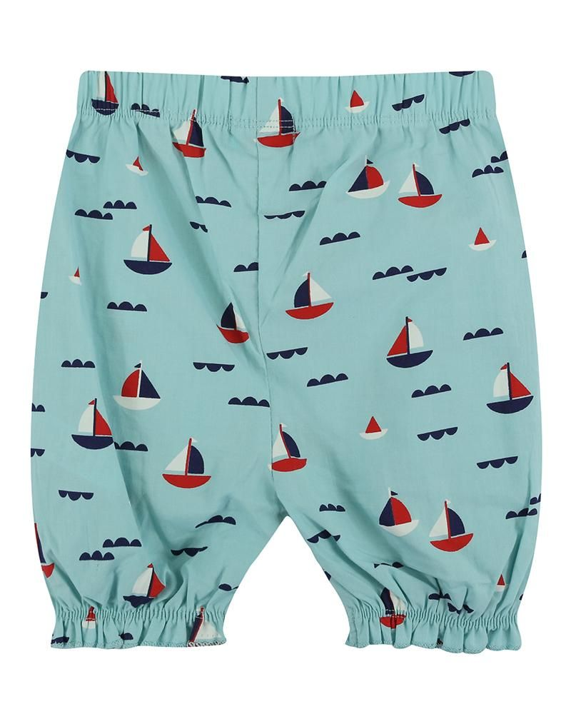 Load image into Gallery viewer, Lilly and Sid Applique Shorts Set - Boats - Small and Awesome