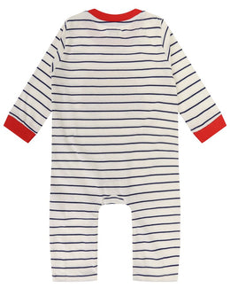 Lilly and Sid Bus Applique Playsuit - Small and Awesome