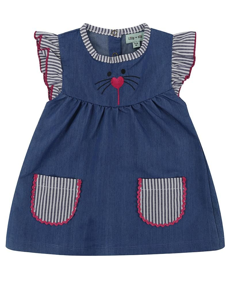 Lilly and Sid Character Baby Dress - Small and Awesome