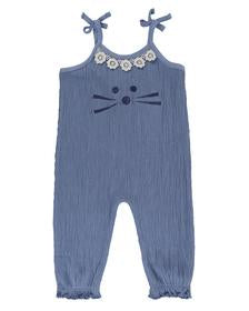 Lilly and Sid Character Face Dungarees