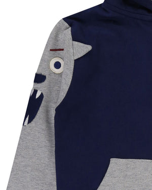 Load image into Gallery viewer, Lilly and Sid Character Sleeve Hoodie - Small and Awesome