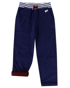 Load image into Gallery viewer, Lilly and Sid Cord Trousers- Navy - Small and Awesome