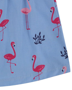 Load image into Gallery viewer, Lilly and Sid Fabrix Mix Dress- Flamingo - Small and Awesome
