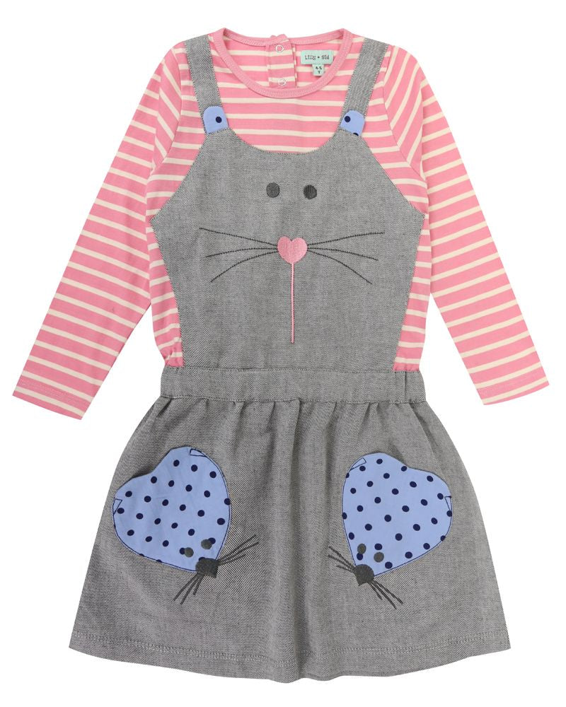 Lilly and Sid Mock Pini Character Dress - Small and Awesome