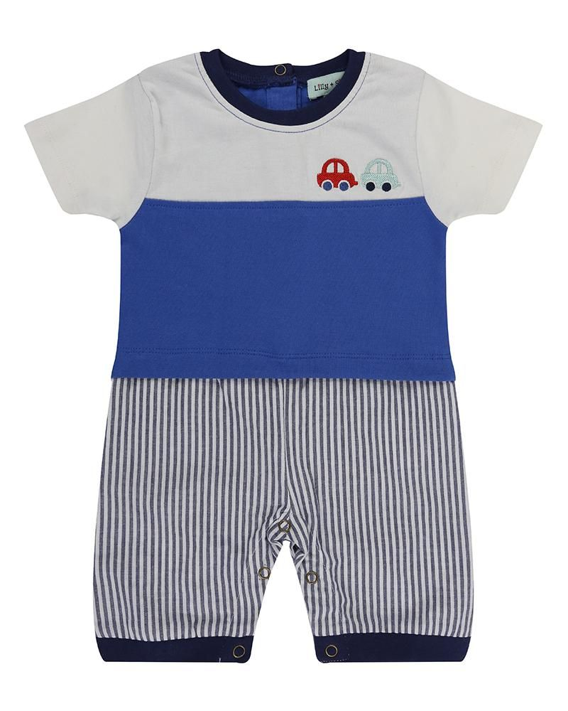 Lilly and Sid Mock Short Set Stripe - Small and Awesome