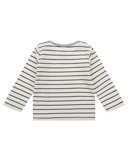 Lilly and Sid Navy Stripe Top - Small and Awesome