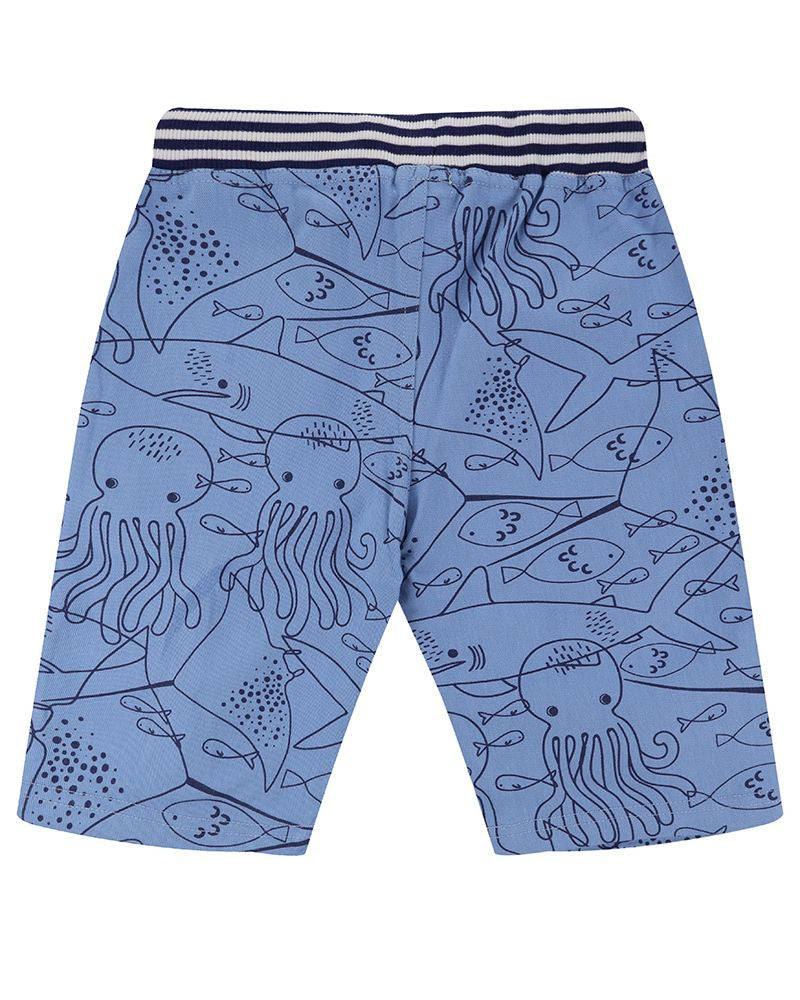 Load image into Gallery viewer, Lilly and Sid Printed Board Shorts- Fish Mash - Small and Awesome