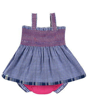 Load image into Gallery viewer, Lilly and Sid Reversible Check Sundress - Small and Awesome