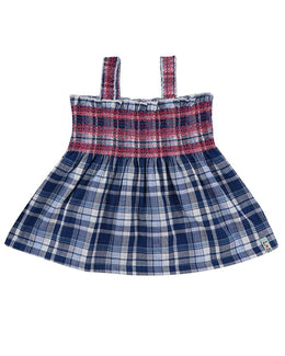 Lilly and Sid Reversible Check Sundress - Small and Awesome