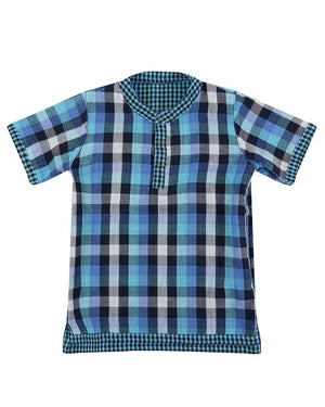 Load image into Gallery viewer, Lilly and Sid Reversible Shirt - Check Check - Small and Awesome
