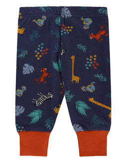 Lilly and Sid Safari Legging and Bus Set - Small and Awesome