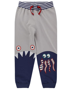 Load image into Gallery viewer, Lilly and Sid Sea Friends Joggers - Small and Awesome
